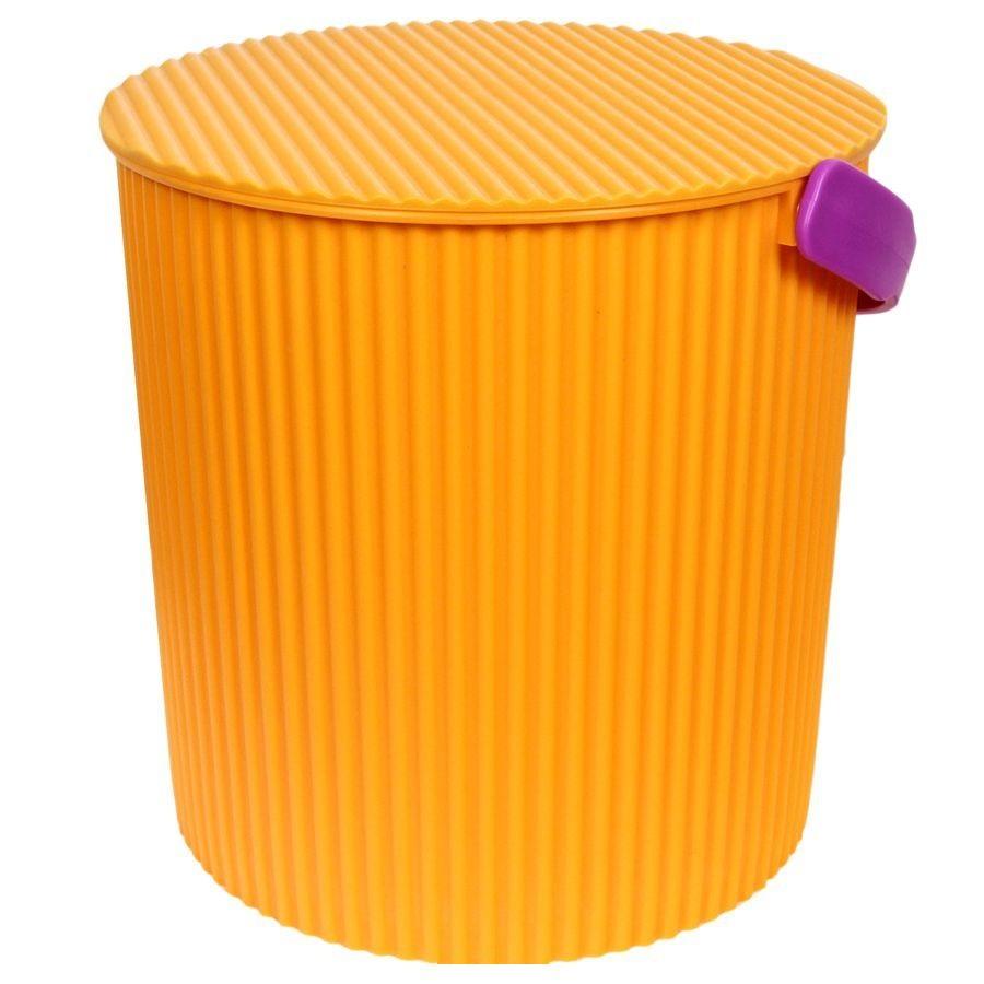 Ведро-стул ИЗУМРУД 203-желтое ведро стул grande красное изумруд 20л