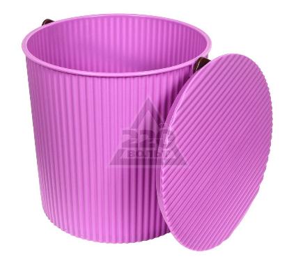 Ведро-стул ИЗУМРУД 204-фиолетовое