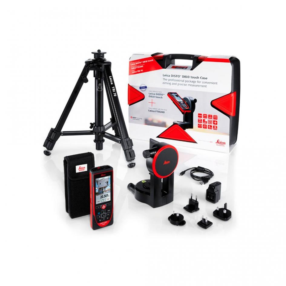 Комплект Leica Disto d810 + tri 70 + fta360 в кейсе лазерная рулетка leica disto d1