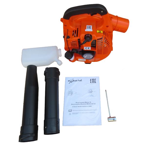 Воздуходувка Expert Blower 26 садовый пылесос воздуходувка expert blower 26 vac 110198