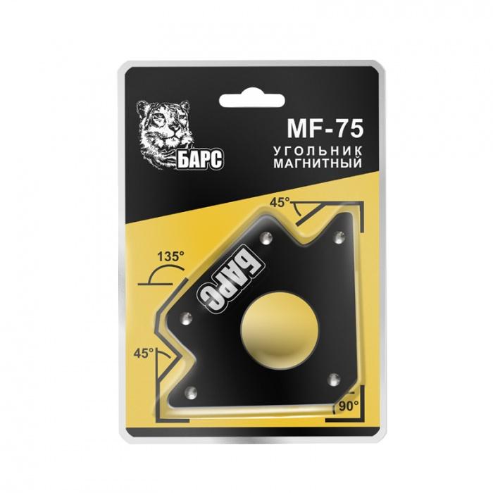 Угольник магнитный БАРС Mf - 75 lbs