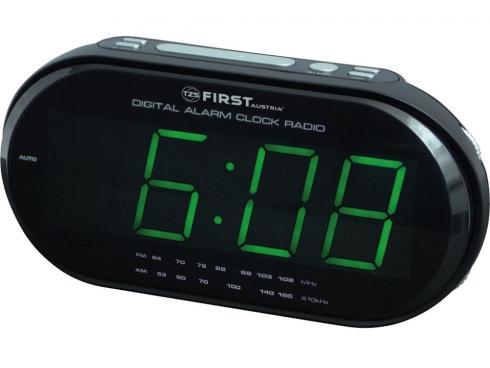 Часы-радио First Fa-2409-1-rf grey
