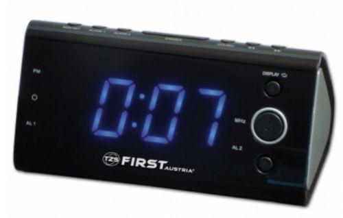 Часы-радио First Fa-2419-3 black часы радио first fa 2421 5 black