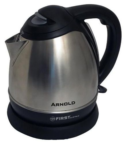 Чайник First Fa-5411-1 black first fa 5411 8 black электрический чайник