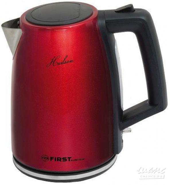 Чайник First Fa-5411-8 red first fa 5411 8 black электрический чайник