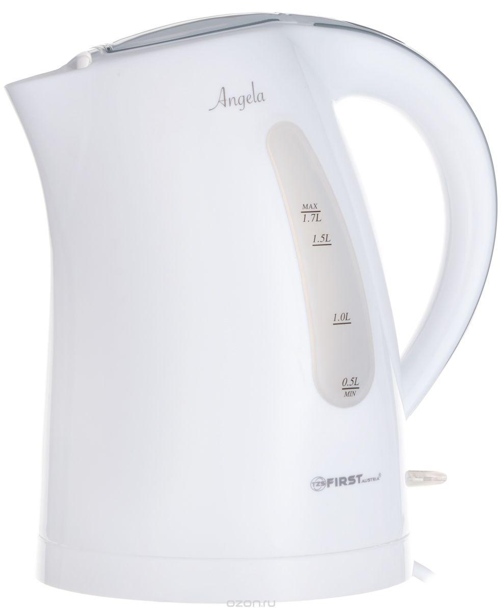 Чайник First Fa-5426-3 white