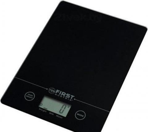 Весы кухонные First Fa-6400 black кухонные весы redmond rs 736 полоски