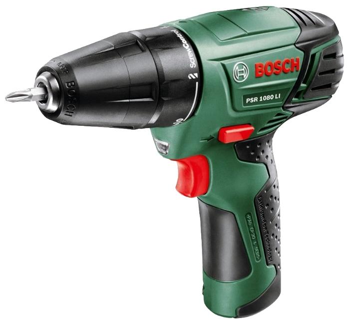 Дрель аккумуляторная Bosch Psr 1080 li интегр. акк. (0.603.985.021)