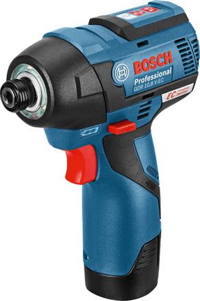 Гайковерт аккумуляторный Bosch Gdr 10.8 v-ec (0.601.9e0.000) набор bosch гайковерт аккумуляторный gdr 18 v li 4 0ач 0 601 9a1 30e адаптер gaa 18v 24