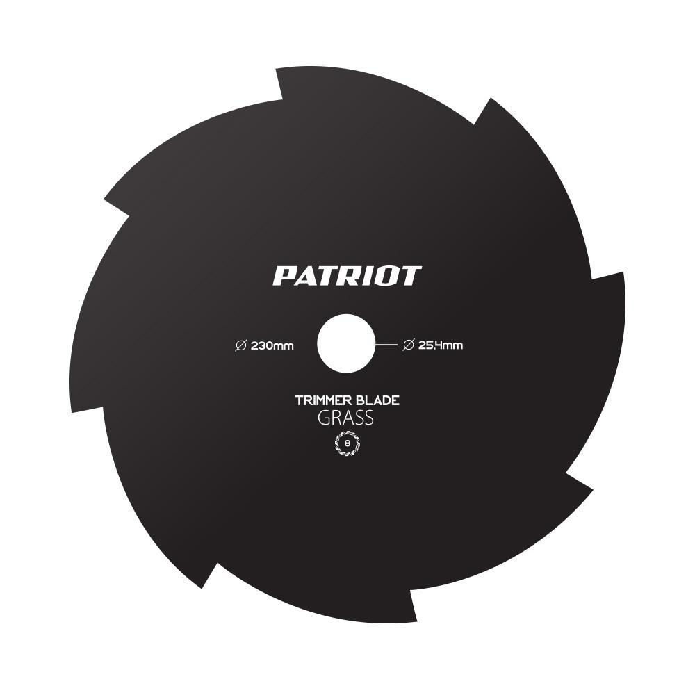 Нож Patriot Tbs-8 нож для триммера patriot tbs 40