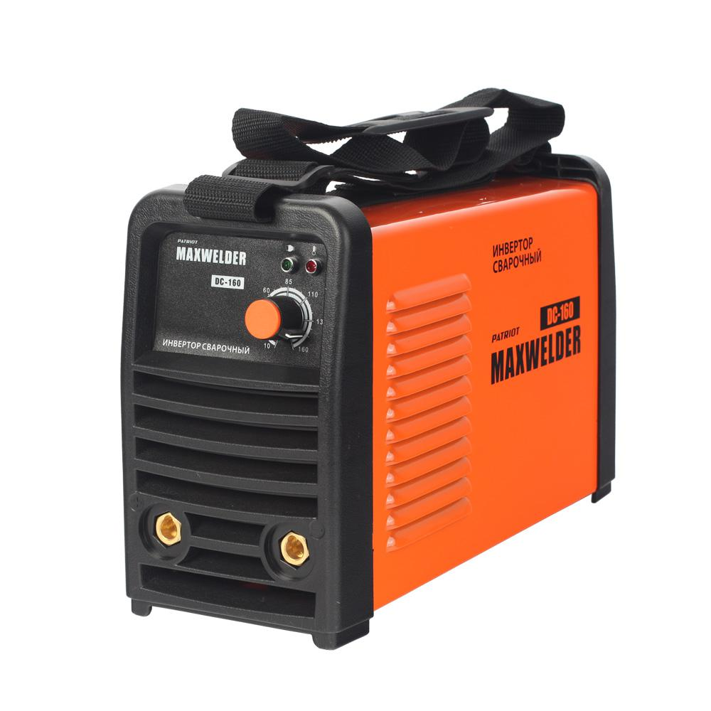 Сварочный аппарат Patriot Max welder dc-160 сварочный аппарат patriot max welder dc 180 605302030 605302030