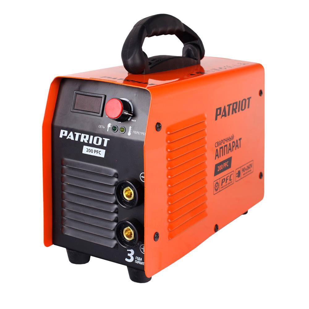 Сварочный аппарат Patriot 200 pfc сварочный инвертор patriot 230 pfc 605302145