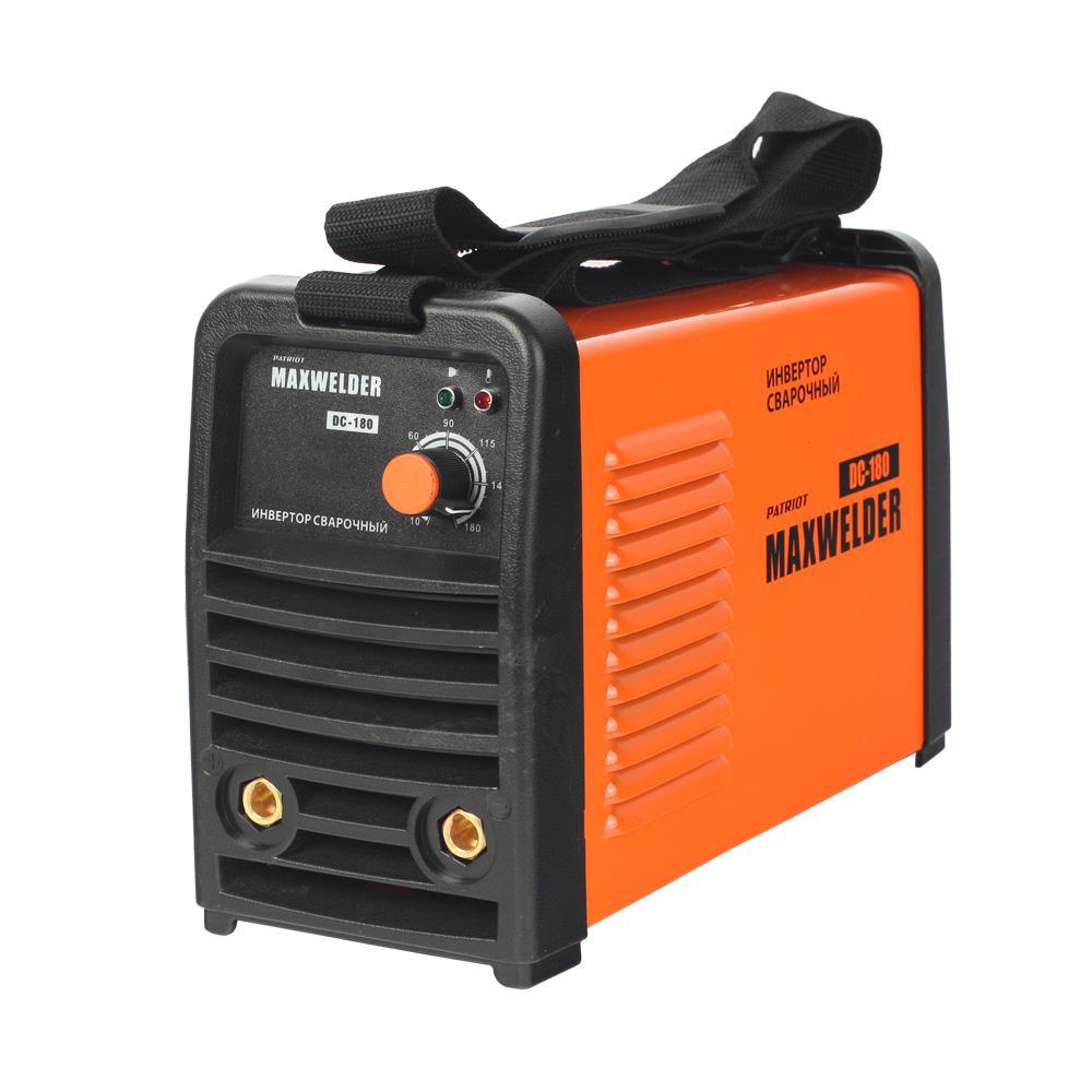 Сварочный аппарат Patriot Max welder dc-180 сварочный аппарат patriot max welder dc 180 605302030 605302030