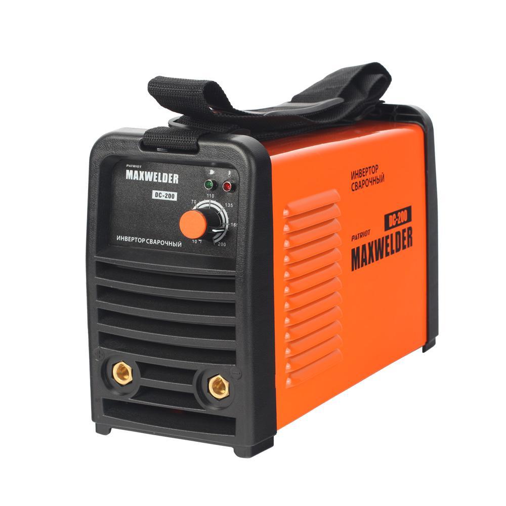 Сварочный аппарат Patriot Max welder dc-200 сварочный аппарат patriot max welder dc 180 605302030 605302030