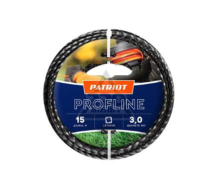 Леска для триммеров PATRIOT Profline D 3,0мм L 15м