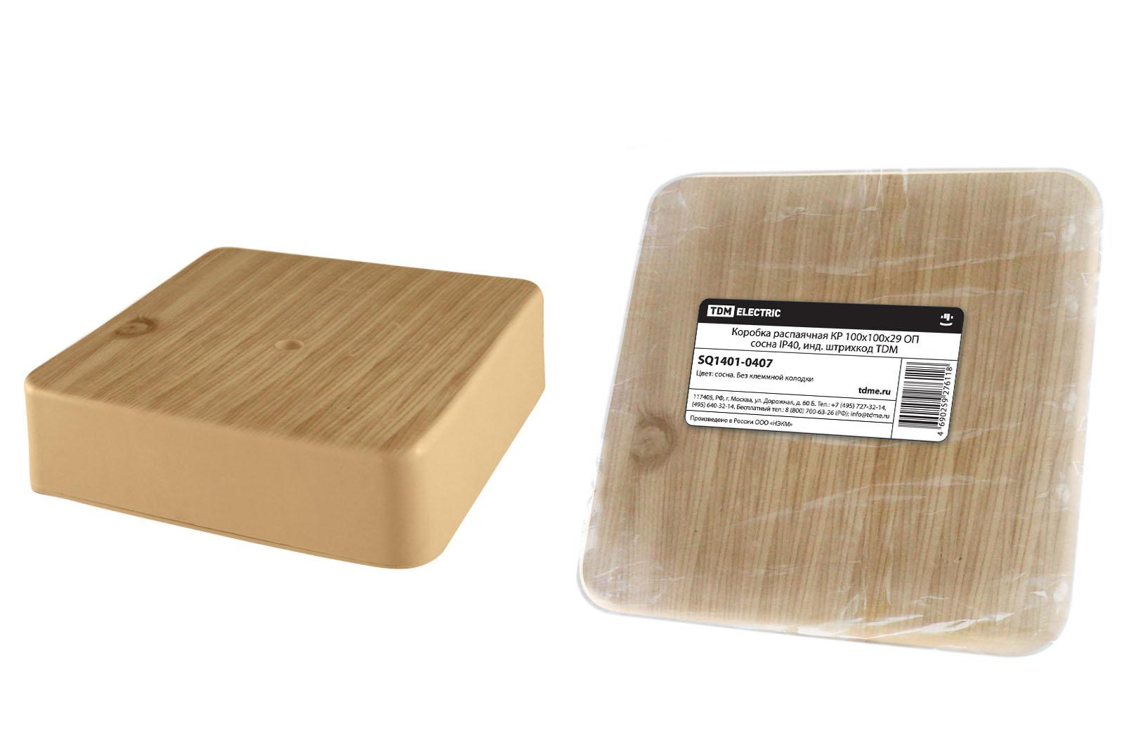 Коробка распаячная Tdm Sq1401-0407