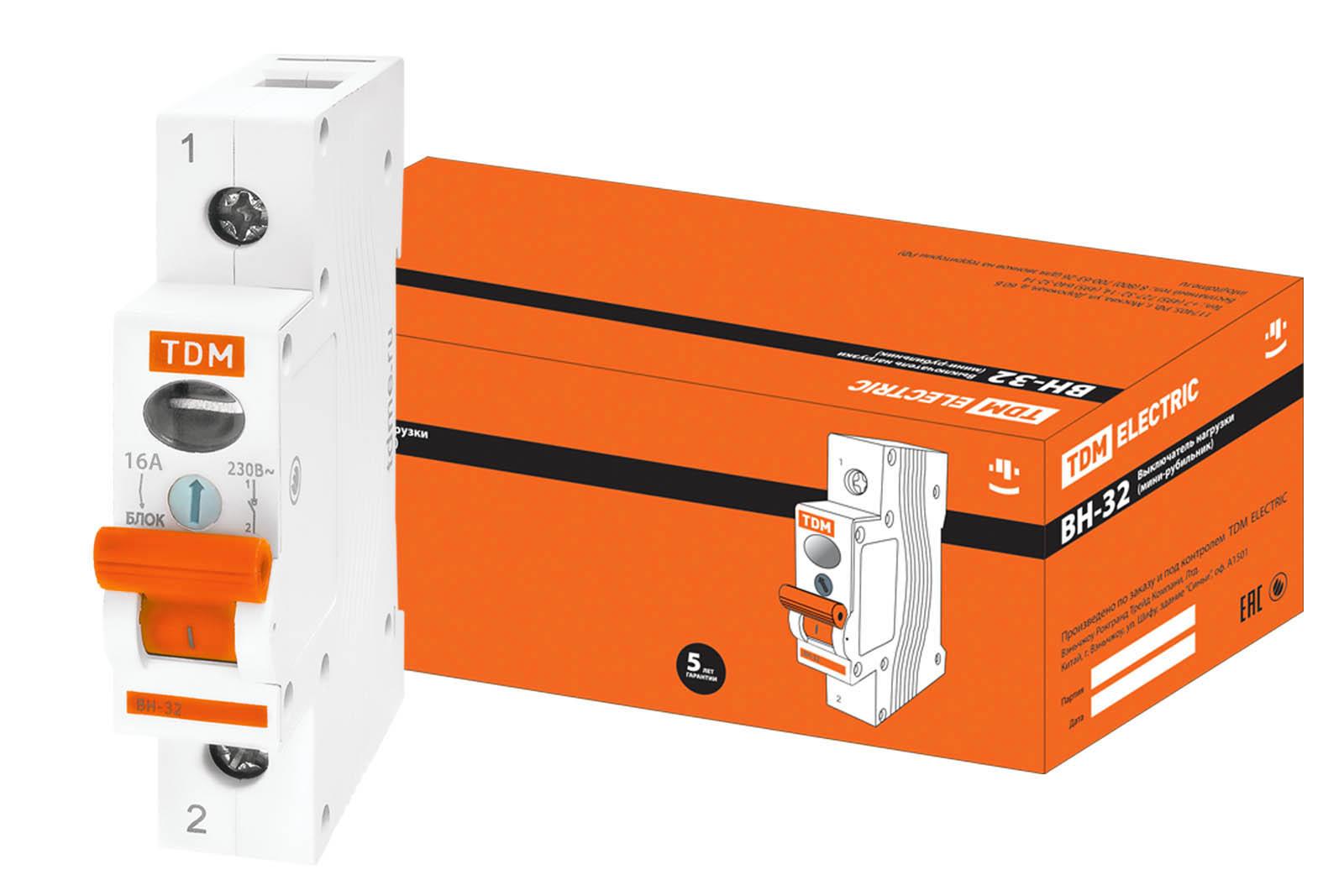 Рубильник Tdm Sq0211-0001 выключатель нагрузки мини рубильник tdm вн 32 4p 100a sq0211 0039