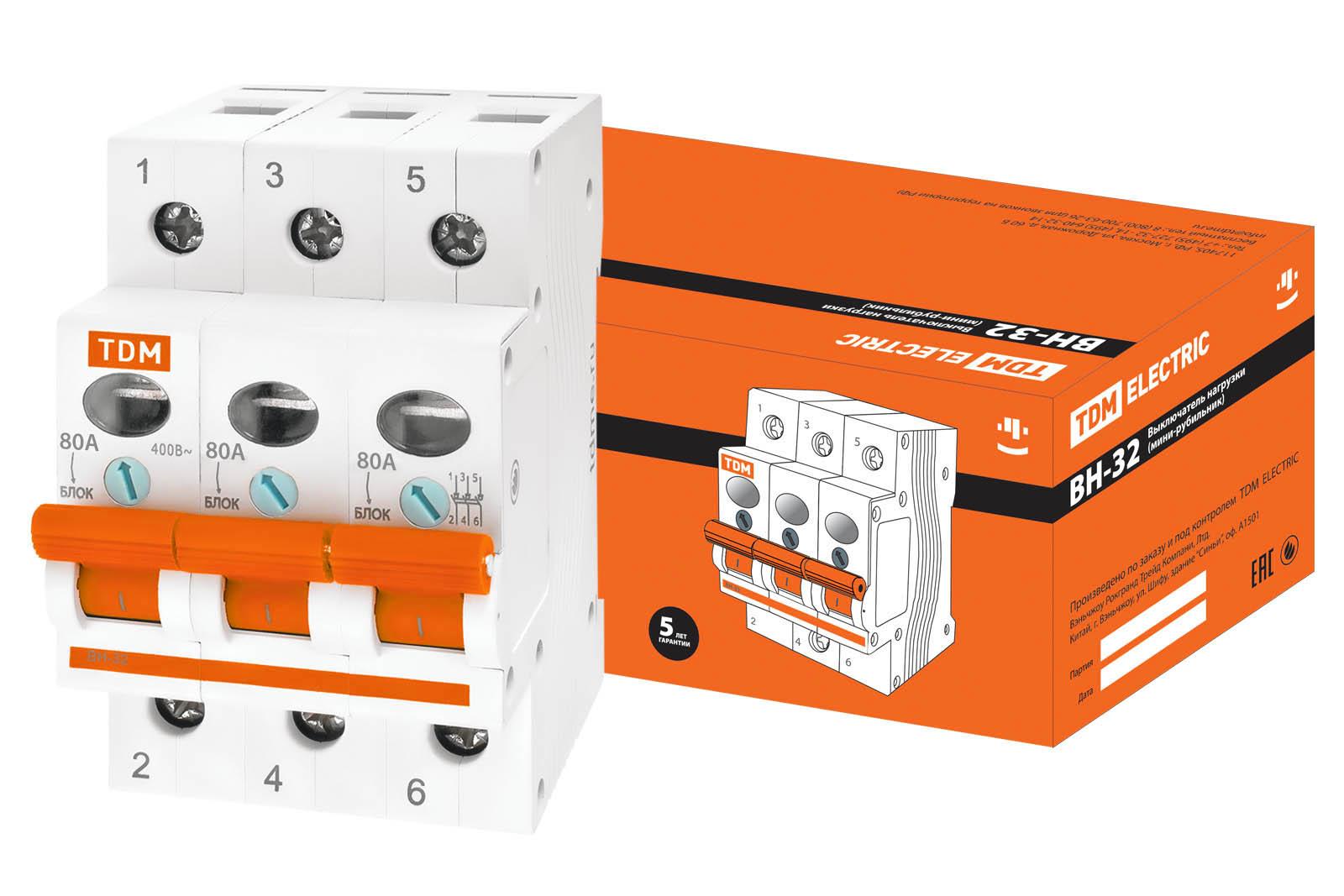 Рубильник Tdm Sq0211-0028 выключатель нагрузки мини рубильник tdm вн 32 4p 100a sq0211 0039