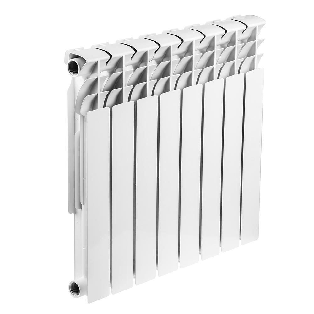 Радиатор биметаллический Rommer Optima bm 500/78 8 секций радиатор отопления rommer optima 500 алюминиевый 8 секций
