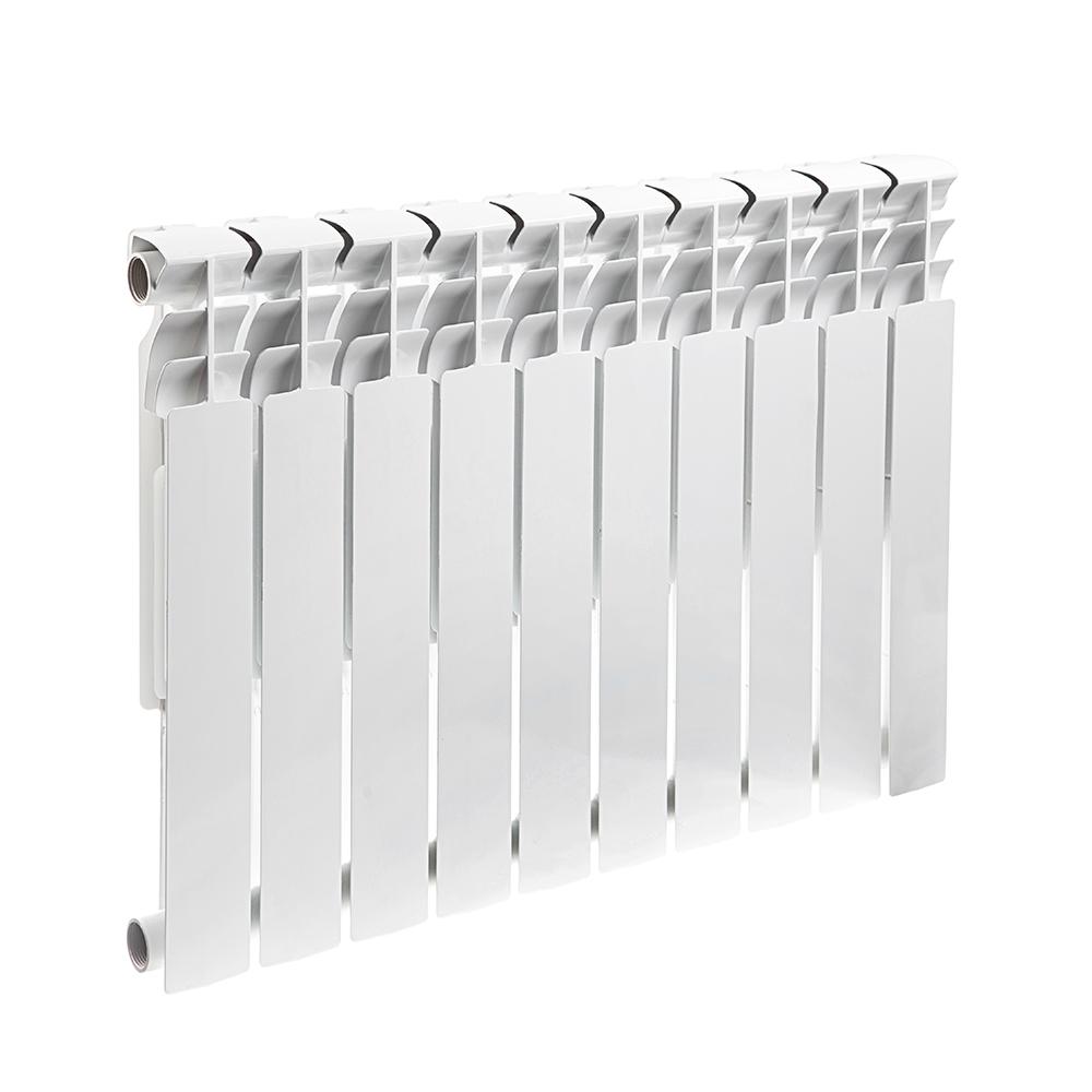 Радиатор биметаллический Rommer Optima bm 500/78 10 секций радиатор отопления rommer optima 500 алюминиевый 8 секций