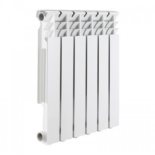 Радиатор алюминиевый Rommer Optima 500/78 4 секции радиатор отопления rommer optima 500 алюминиевый 8 секций