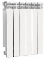 Радиатор алюминиевый Rommer Optima 500/78 6 секций радиатор отопления rommer optima 500 алюминиевый 8 секций