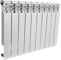 Радиатор алюминиевый Rommer Optima 500/78 12 секций радиатор отопления rommer optima 500 алюминиевый 8 секций