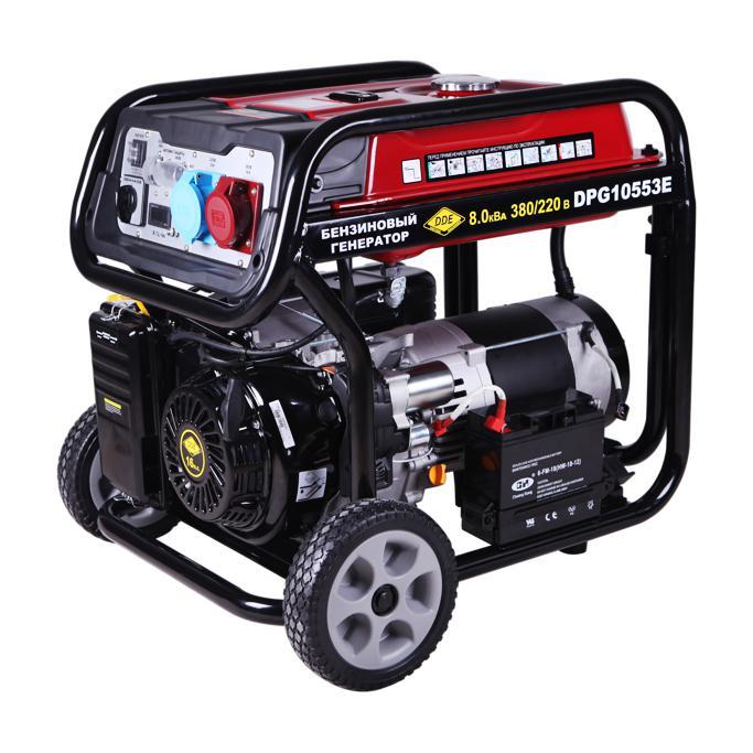 Бензиновый генератор Dde Dpg10553e цена и фото