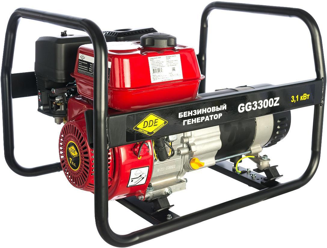 Бензиновый генератор Dde Gg3300z генератор бензиновый patriot srge 3500