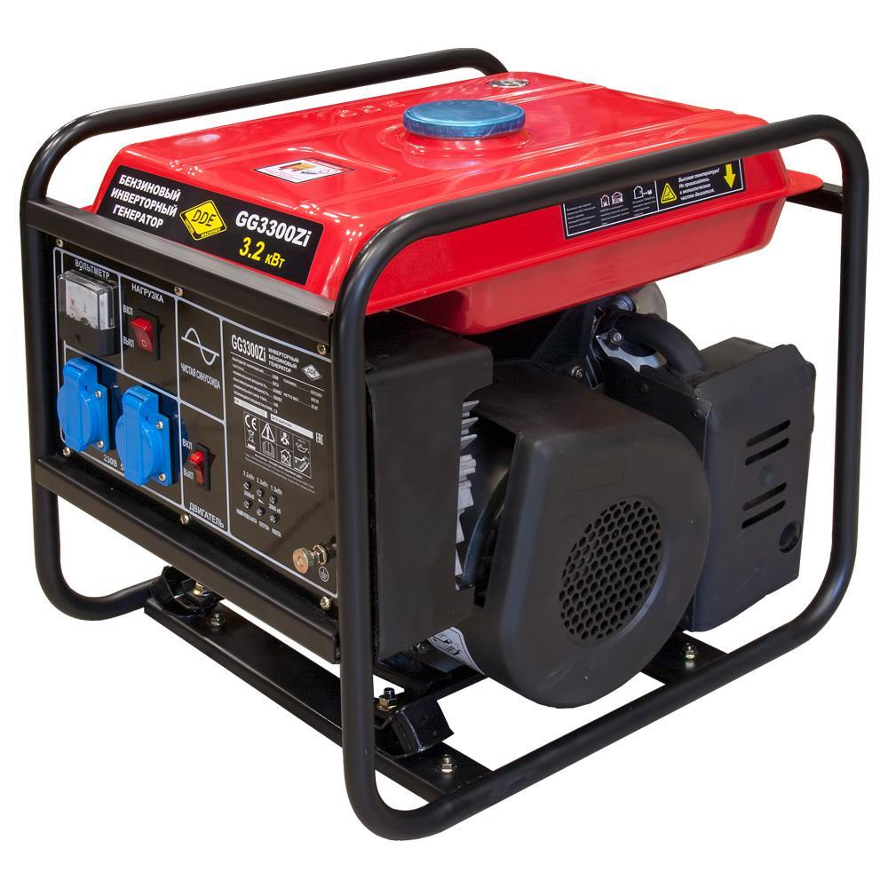 Купить со скидкой Инверторный бензиновый генератор Dde Gg3300zi