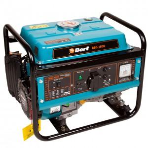 Бензиновый генератор Bort Bbg-1500 генератор бензиновый bort bbg 6500