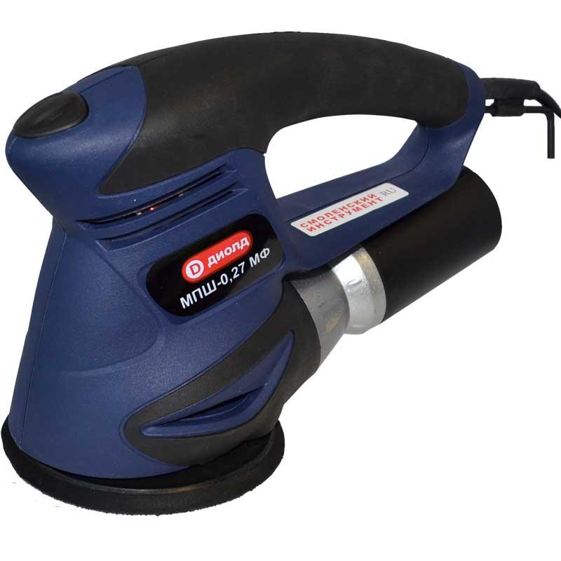 Машинка шлифовальная плоская (вибрационная) ДИОЛД МПШ-0,27 МФ машинка шлифовальная плоская вибрационная makita bo4557
