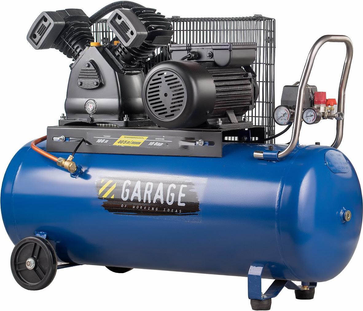 Компрессор Garage 8087910 pk 100.mbv400/2.2 цена