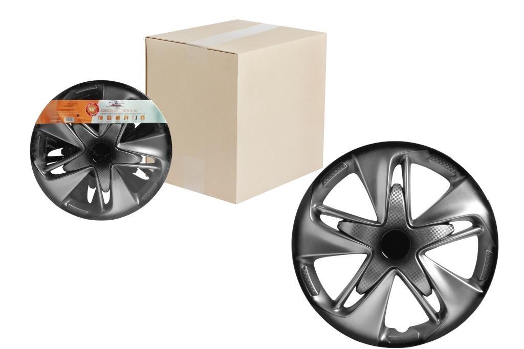 Колпаки на колёса Airline Awcc-16-02 декоративные колпаки на штампованные колеса 16
