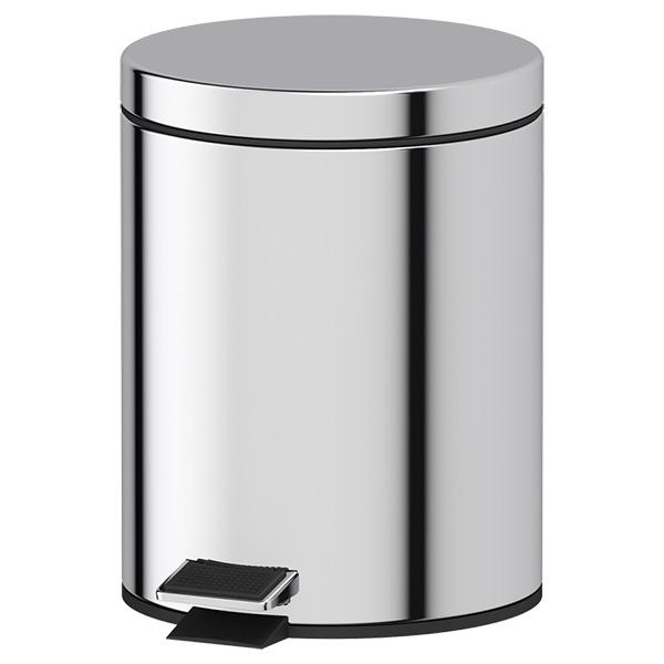 Ведро Defesto Def 004 стойка с 2 мя аксессуарами для туалета 80 см defesto pro хром def 002
