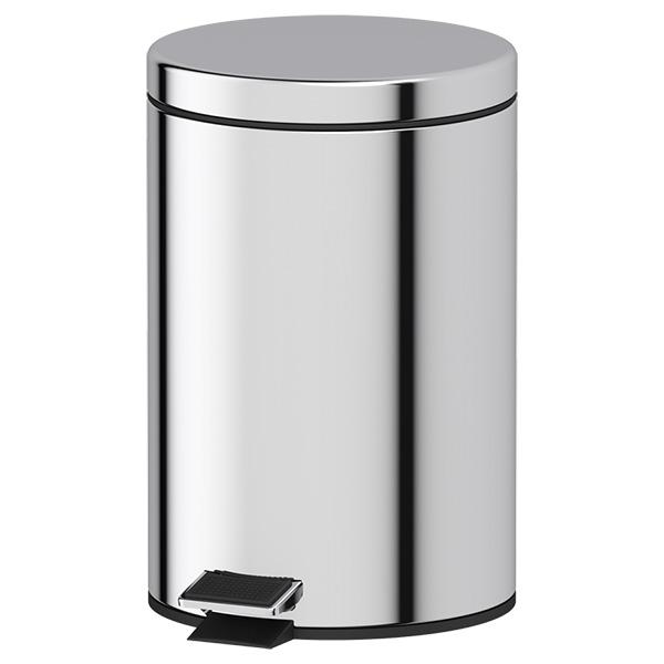 Ведро Defesto Def 005 стойка с 2 мя аксессуарами для туалета 80 см defesto pro хром def 002