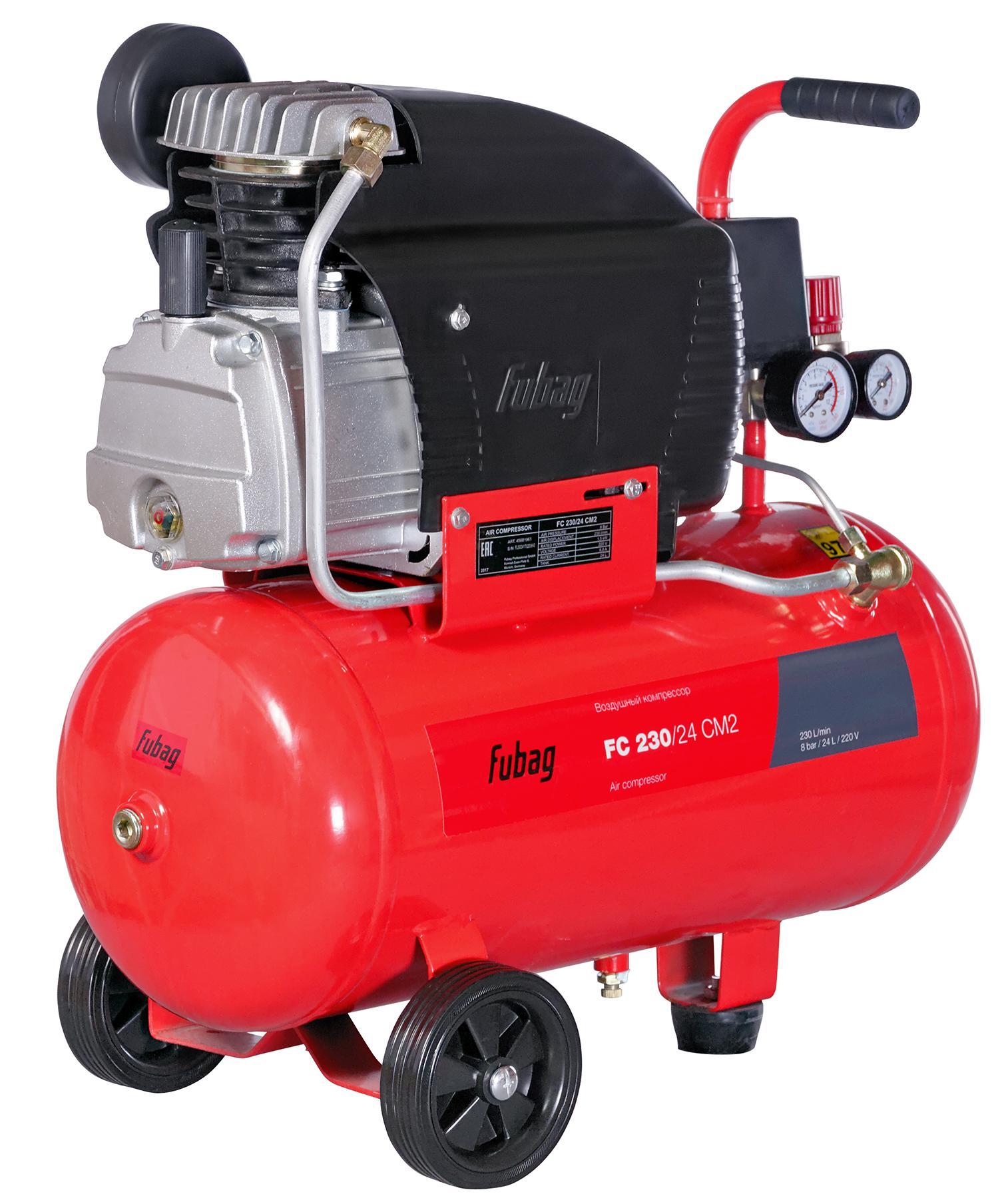 Компрессор Fubag FС 230/24 cm2 компрессор воздушный fubag fс 230 50 cm2