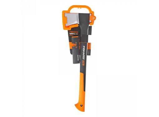 Набор: топор-колун FISKARS  X17 – M + точилка для топоров и ножей Xsharp 1020182