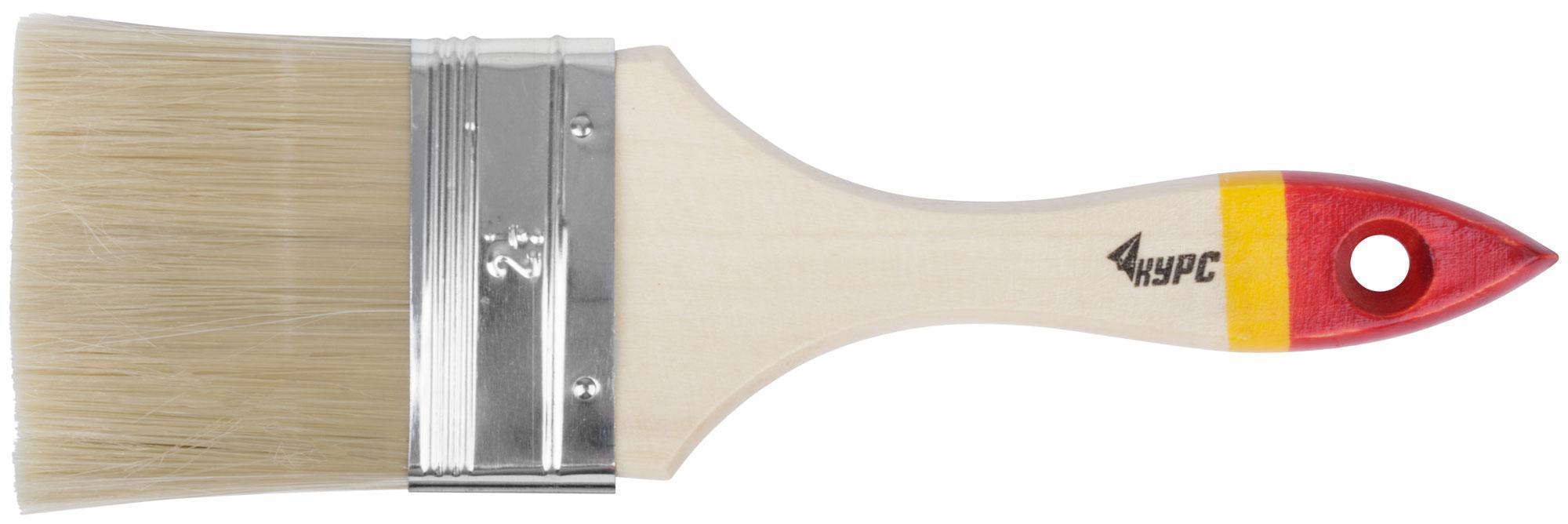 Кисть флейцевая КУРС 00866 кисть флейцевая kraftool 1 01017 50