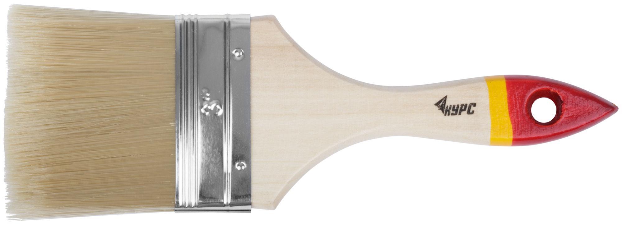 Кисть флейцевая КУРС 00867 плоская кисть kraftool klassik 1 01013 25