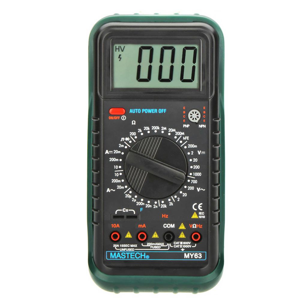 Мультиметр Mastech My63 мультиметр mastech ms8239c