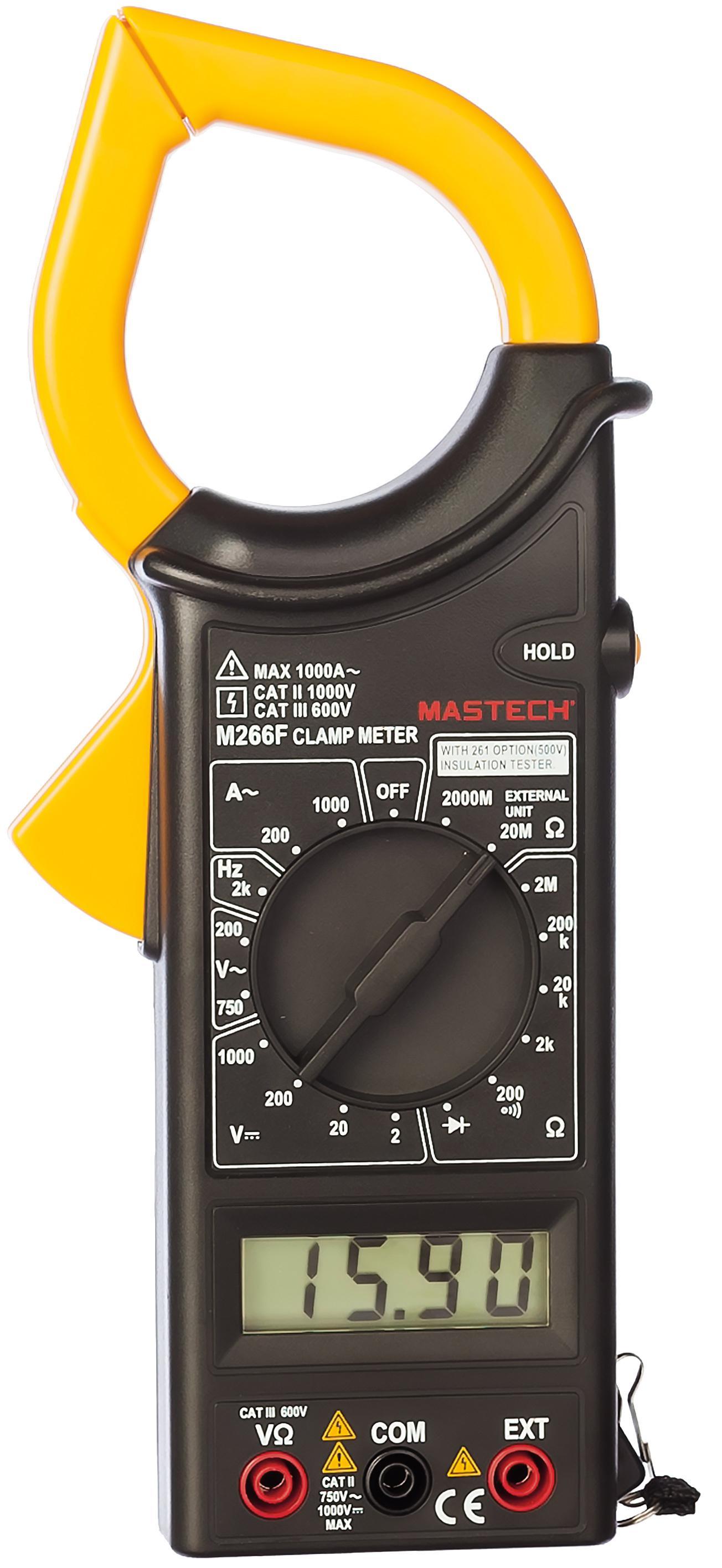 Клещи Mastech M266f