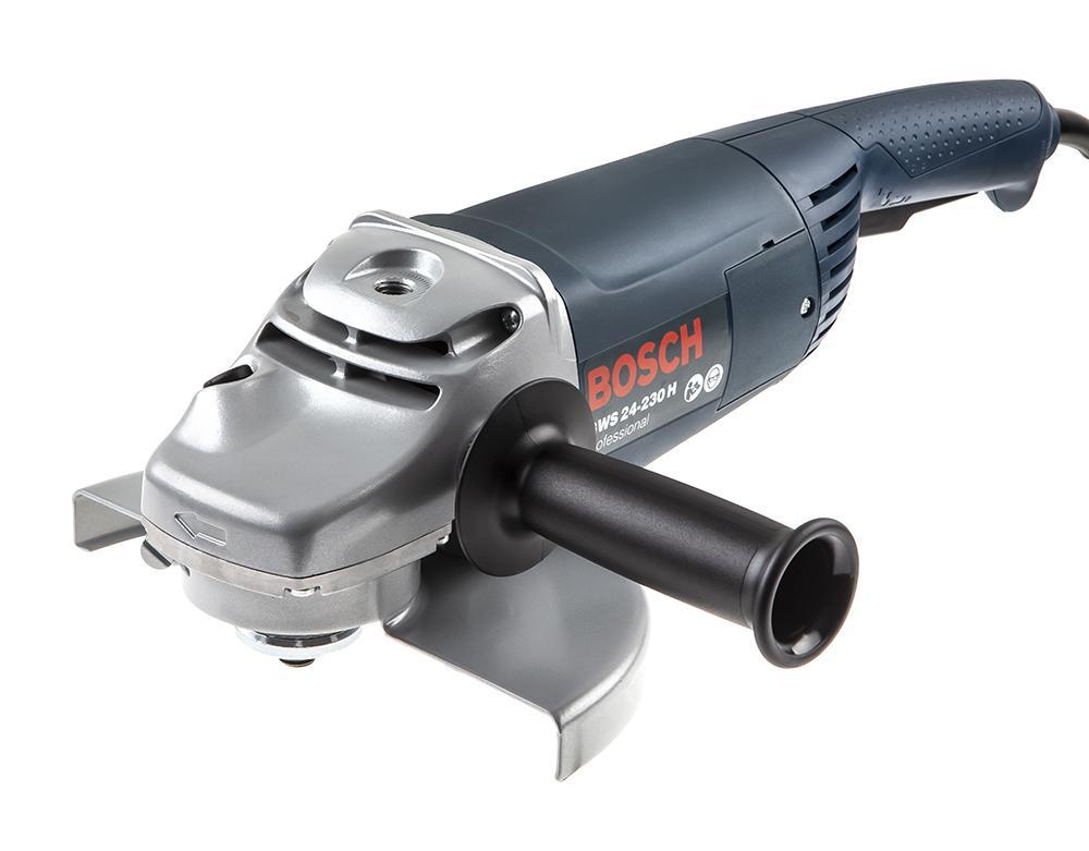 УШМ (болгарка) Bosch Gws 24-230 h (0.601.884.103) угловая шлифовальная машина bosch gws 20 230 h 0 601 850 107