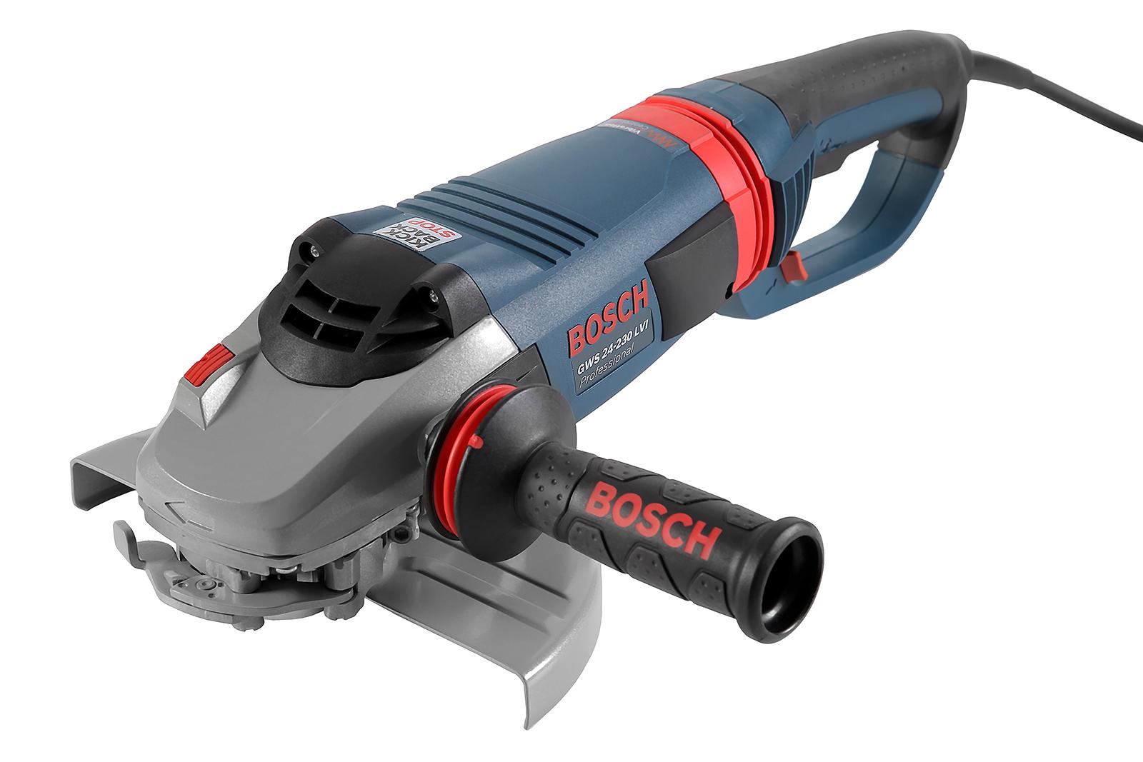 УШМ (болгарка) Bosch Gws 24-230 lvi (0.601.893.f00) угловая шлифмашина bosch gws 26 230 lvi 0 601 895 f04