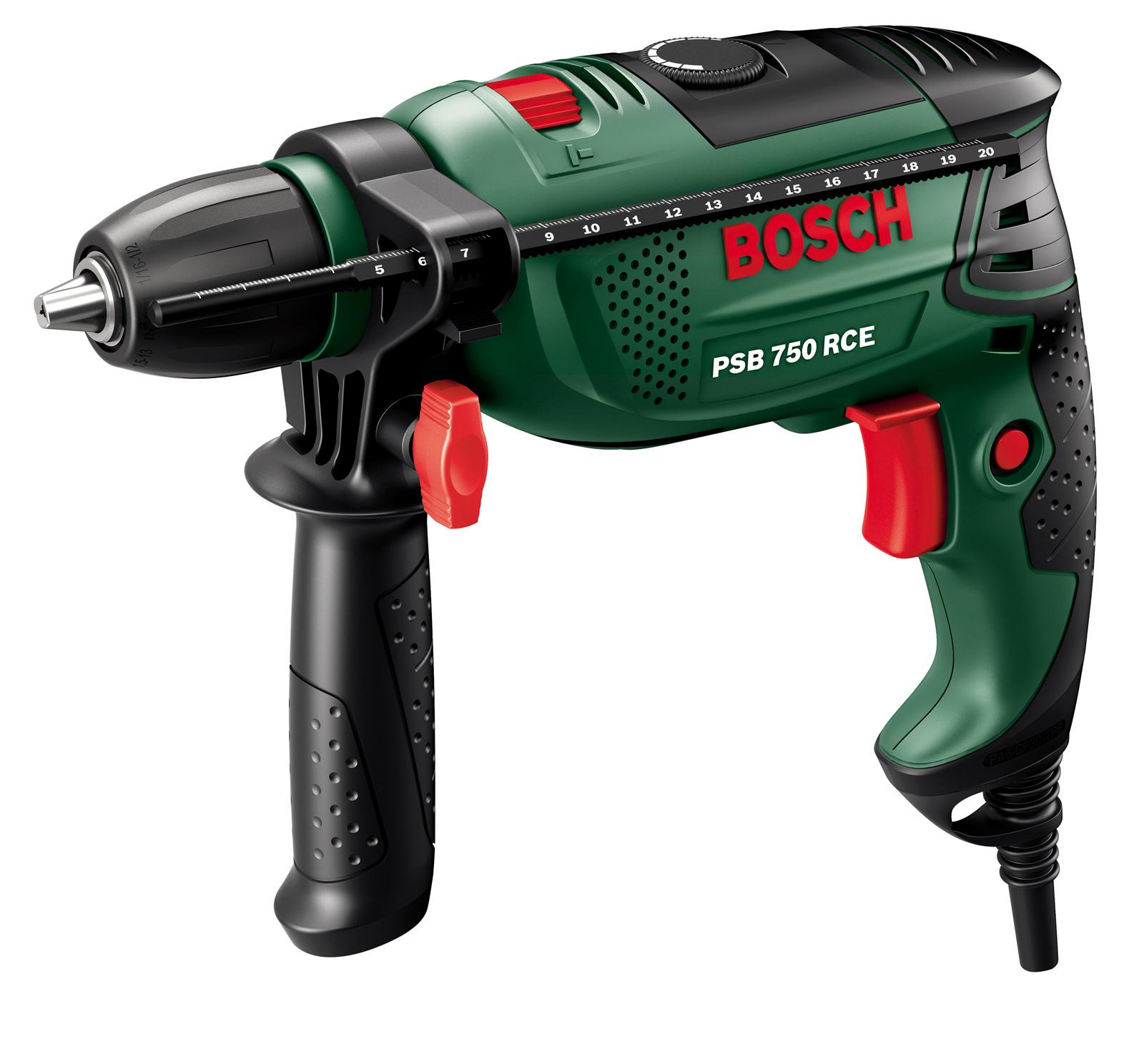 Дрель ударная Bosch Psb 750 rce (compact)(0.603.128.520) дрель bosch psb 530 re
