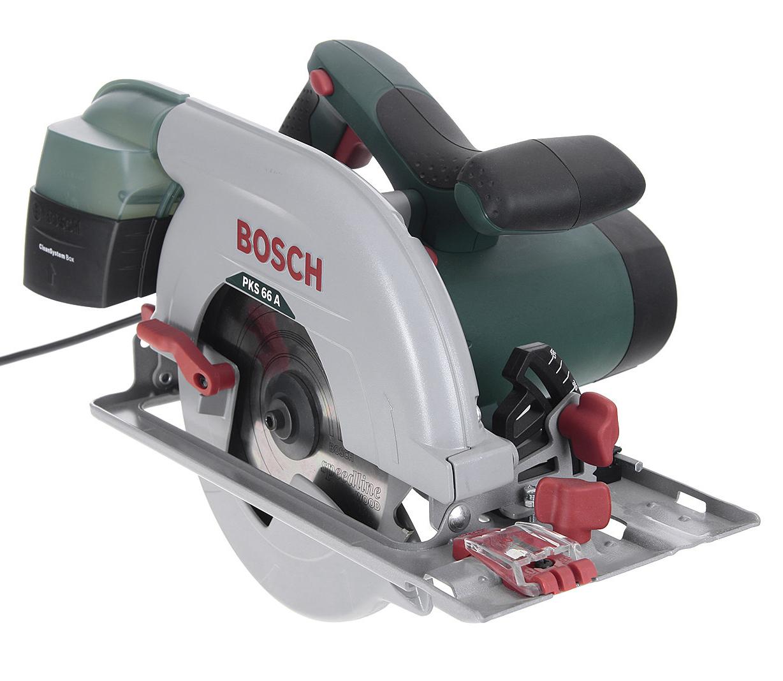 Пила циркулярная Bosch Pks 66 a (0.603.502.022) аккумуляторная дисковая пила bosch pks 18 li 2 5ah x1 06033b1302