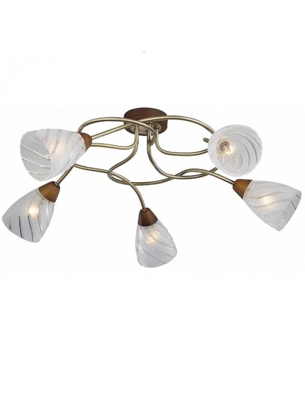Люстра Lgo Lsp-0083 lucesolara люстра lucesolara 8001 5s цоколь е14 40w gold cream металл стекло 5 ламп