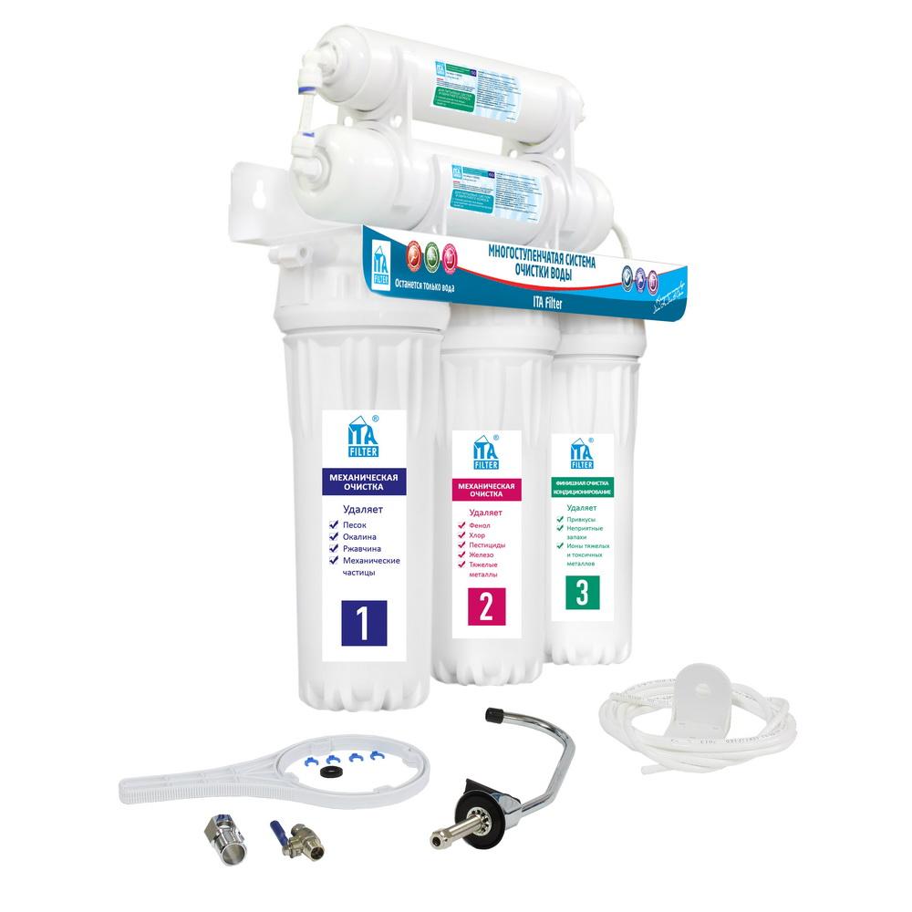 Фильтр Ita filter F10520 фильтр магистральный для воды ita filter ita 10 1 2 f20110 1 2