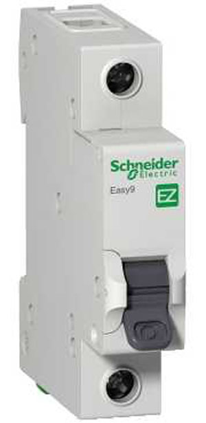Автомат Schneider electric Easy 9 ez9f34163 передняя панель schneider electric с вырезом 5 модулей 03205
