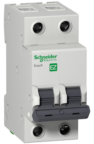 Автомат Schneider electric Easy 9 ez9f34206 передняя панель schneider electric с вырезом 5 модулей 03205